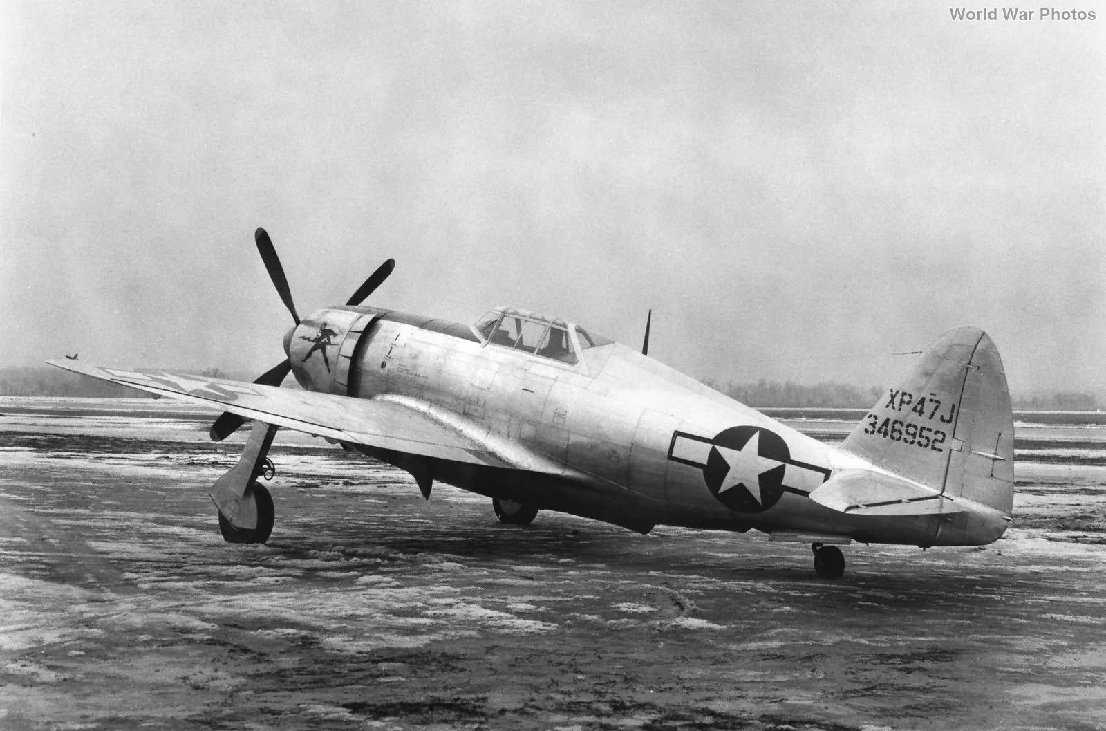 XP-47J 43-46952