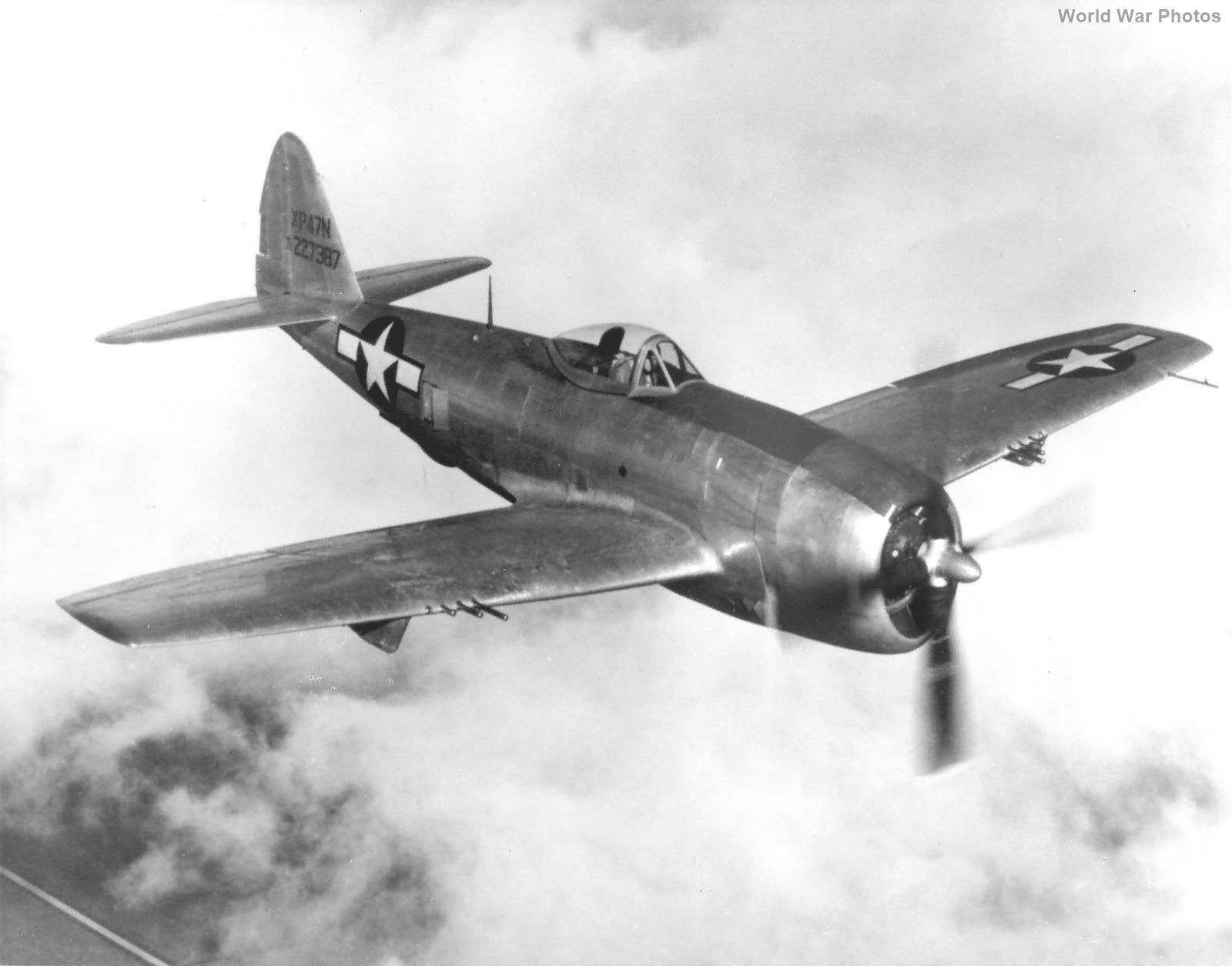 XP-47N 42-27387