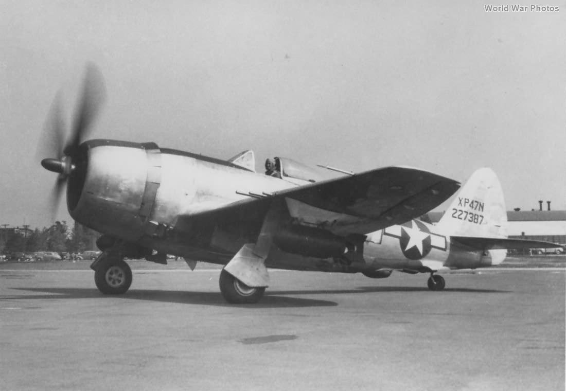 XP-47N 42-27387 2