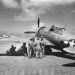 Lt Albert Schaffle P-47 Bouncin Bette 19th FS 318th FG Saipan