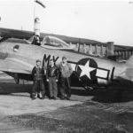 P-47D The Flying Falcon 42-28455 of 82nd FS, pilot 1Lt Lawrence W. Nelson Jr