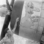P-47D named Vivacious Dottie PTO