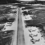 Thunderbolts on Ie Shima Airstrip 1945