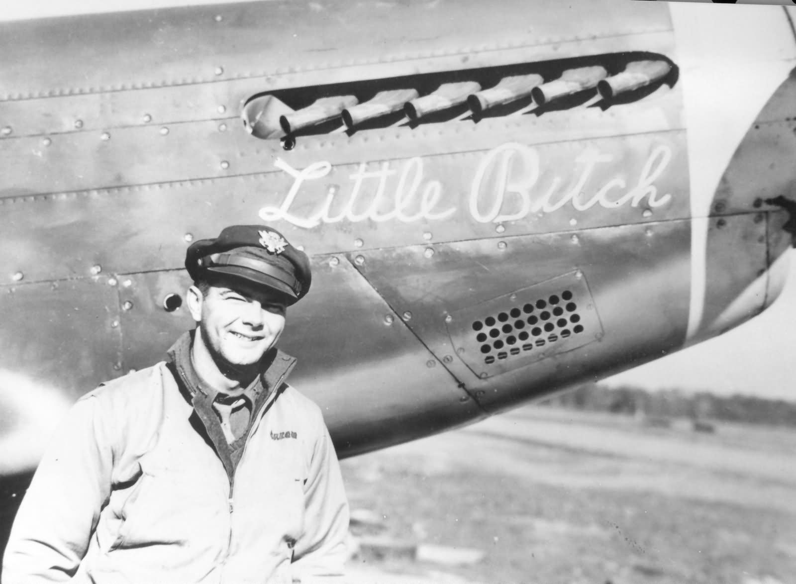Capt dave peron 357th fighter group by p 51b mustang for Captain dave s fishing