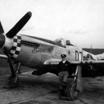"1lt Phillip Petitt of the 503rd FS 339th FG and P-51D Mustang 44-11325 ""Princess Pat"" Code D7-K"