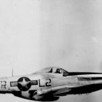 """479th FG 434th FS P-51 44-15086 """"Cactus Jack"""" L2-R In Flight, pilot Lt Morrow"""