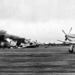 504th BG B-29 Crash Landing On Iwo Jima 24 April 1945