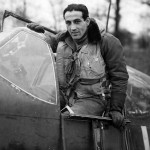 Capt Donald Gentile In Cockpit 336th FS 4th FG Debden
