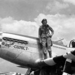 Capt Evan Johnson of the 505th FS 339th Fighter Group P-51D 44-13471 Coded 6N-J