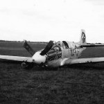 Crashed 364th Fighter Group 383rd FS P-51B Mustang 43-25066 April 1945