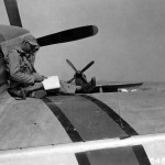 Crew Chief Of An Unidentified P-51D Mustang Assigned To The 45th FS 15th Fighter Group