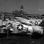 F-6K Mustang serial 44-12527 code QL-L of the 22nd TRS 69th TRG Ochey A-96 France 1945
