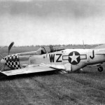 North American P-51D-20-NA Mustang serial 44-72163 Code WZ-J of the 84th FS 78th Fighter Group, pilot Lt James Farmer1945