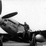 "LtCol Joseph Mcmanus of the 364th FG 383rd FS With His P-51K ""Clam Winkle"" Serial 44-11762 code N2-M"