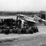 "LtCol William Clark P-51D 44-64148 ""Happy IV"" code 5Q-C of the 504th FS 339th Fighter Group, 1 April 1945"