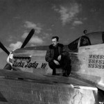 "Maj Ernest Bankey Jr of the 385th FS 364th FG P-51D 44-73045 ""Lucky Lady III"" Code 5E-B"
