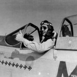 Pilot Maj Samuel Brown of the 309th FS 31st Fighter Group In P-51D Mustang 44-13464 Coded MX-A