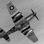 "North American P-51 ""Dear Arabella"", Pilot 1st Lt Richard Locke 361st Fighter Group"
