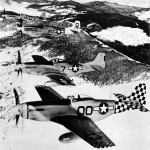 North American P-51 Mustangs of various Fighter Groups of the 15th AF