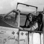 P-51B Mustang pilot 1lt Walter Goehausen of the 308th FS 31st Fighter Group