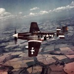 P-51B Mustang serial 42-106950, code WR-P of the 354th FS 355th Fighter Group color photo