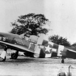 "P-51B 43-12375 code FT-E ""Bonnie B II"" with D-Day stripes, pilot Capt Don Beerbower 353rd Fighter Squadron France 1944"