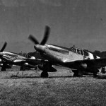P-51B And C Mustangs of the 361st Fighter Group with D-Day stripes