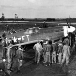 P-51B Mustang At An 8th Air Force Base In England 27 December 1943