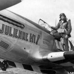 "P-51C Mustang 42-103798 ""Julienne Hi!"" Code FT-X of the 353rd Fighter Squadron 354th FG"