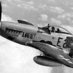 "P-51D Mustang 44-13410 ""Lou IV"", pilot Lt Col Thomas Christian Jr Commander of the 361st Fighter Group"