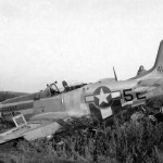 "P-51D Mustang 44-13686 ""Rugged Rebel"" code 5E-N, pilot LtCol Allison Brooks of the 1st Scouting Force, 17 October 1944"