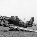 P-51D Mustang 44-63177 of the 82nd FS 78th Fighter Group, code MX-C, 4 January 1945 Pilot Flt Off Melvin Hoffman