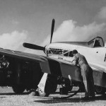 P-51D Mustang #186 44-63375 of the 47th FS 15th Fighter Group, 12 February 1945