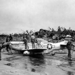 P-51D Mustang 44-63532 Flown By Lt Thomas Quinn of the 46th FS 21st Fighter Group, Iwo Jima 12 April 1945
