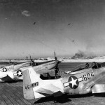 P-51D Mustang 44-63647 of the 462nd FS 506th Fighter Group Iwo Jima 1945