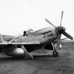 "P-51D 44-63822 ""Lil Butch"" #150 of the 47th FS 15th FG Iwo Jima 12 April 1945"