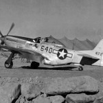 "P-51D Mustang 44-72620 640 ""Shawnee Princess"" of the 462nd FS 506th Fighter Group"