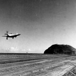 P-51D Mustang from 21st FG Comes In To Land On Iwo Jima