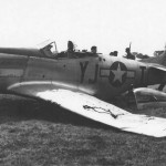 P-51D Mustang od the 353rd Fighter Group 351st Fighter Squadron 8th AF 44 14774 YJ+T Butch 3