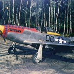 P-51D Mustang 44-11564 356th FG 359th FS Martlesham Heath England 1945, color photo