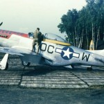 P-51D Mustang 44-11564 356th FG 359th FS Martlesham Heath England 1945, code OC-W