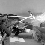 P-51D Serial 44-13993 5E-R of the 385th FS 364th FG, 26 August 1944