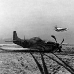 "Crashed P-51 44-15516 code LH-X ""Danny Boy 2nd"" 353rd FG England December 1944"
