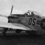 P-51 Mustang 44-14753 of the 355th Fighter Group 357th Fighter Squadron Capt Leslie Minchew