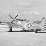 """P-51 Mustang """"Jym S Jokey II"""" Okinawa 1945"""