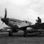 "P-51 Mustang ""Rattlesnake"" of the All Negro 332nd Fighter Group 15th Air Force Italy"