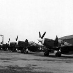 P-51 Mustangs Lancashire England 25 February 1944