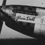 "P-51 Nose Art ""Gloria Doll"" 352nd FS 353rd Fighter Group"