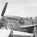 "P-51K Mustang 44-11373 ""Frisco Kid"" Nose Art. code B6-U 363rd Fighter Squadron"