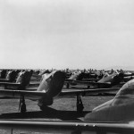 Weatherized North American P-51 Mustangs At Nas Alameda March 1945